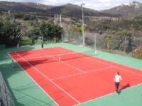 Le cours de tennis d'Arboussols