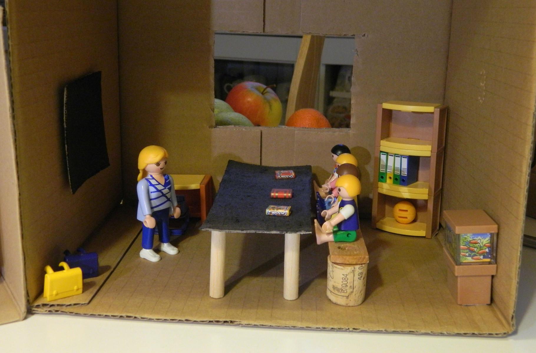 Poppenhuizen maken van karton   Uw winkel voor milieuvriendelijke kantoor , school  en