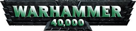 """""""Warhammer40,000logo"""" von Warhammer 40,000 - Warhammer 40,000."""