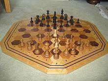 Hexagonales Schach; Bild: Frank Sölter