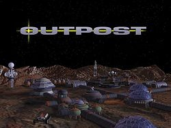 Sierra 1994: Outpost Title Screen
