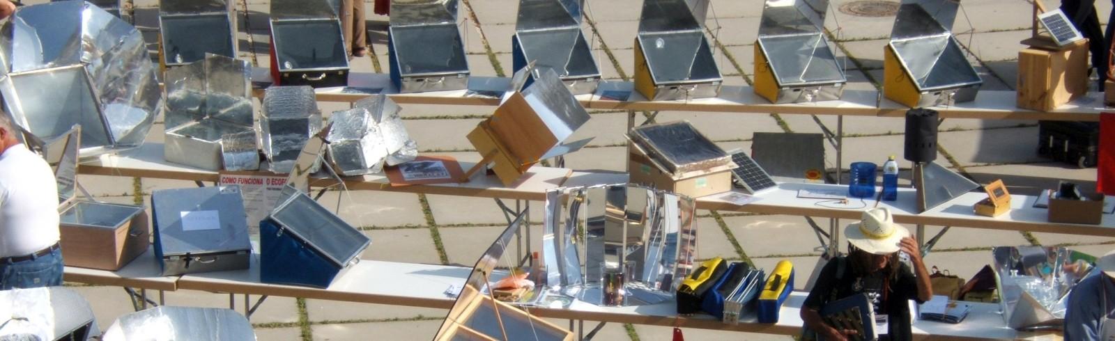 Solarkocherausstellung Granada, Spanien 2006