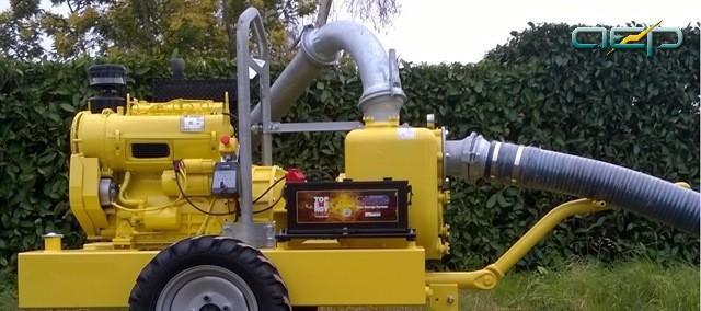 Le motopompe auto amorçant et eaux chargées de chantier - aep