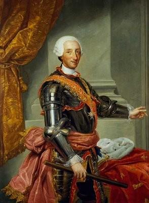 Retrato de Carlos III.