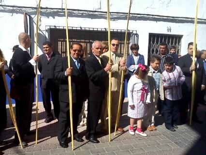 J. Angel,Cándido, Santiago y Eugenio, miembros de nuestra Junta Directiva.