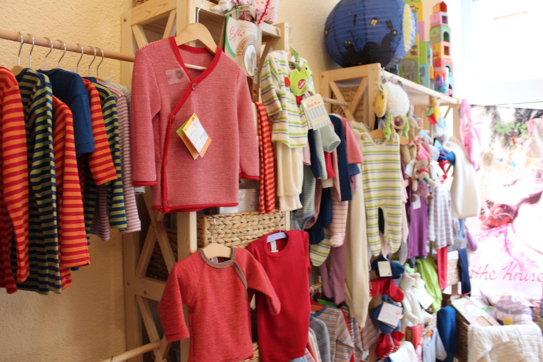 Bei uns finden Sie natürlich hergestellte Textilien für Kinder und vieles mehr ...