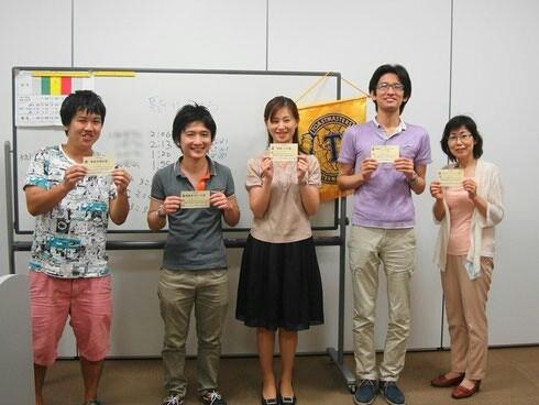 第92回市川スマイルトーストマスターズクラブ 例会写真5