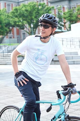 ロードバイク,気軽,Tシャツ,おしゃれ