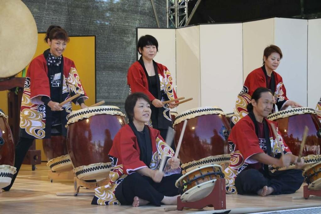 159_0142_16 Sept 2011_Gartenfest_Japan_Taiko_Große Japanische Trommel