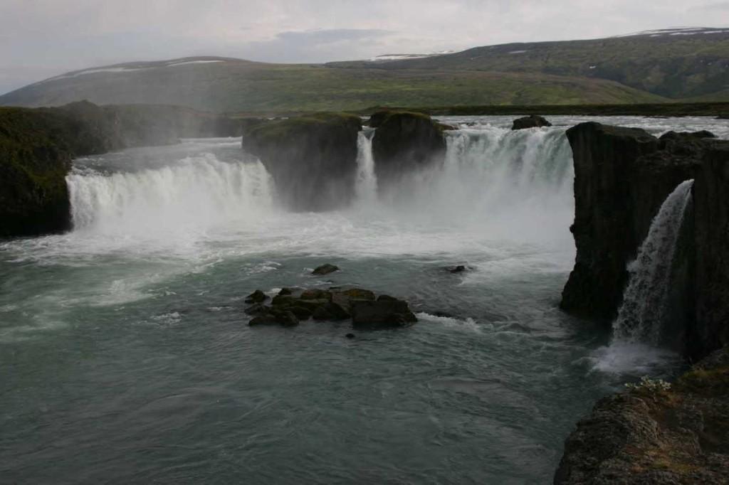 Bild 0817 - Island / Godafoss-Wasserfall