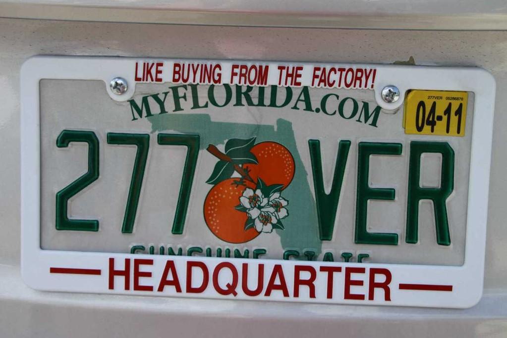 1318_13 Juni 2010_Key West_Autokennzeichen_Florida