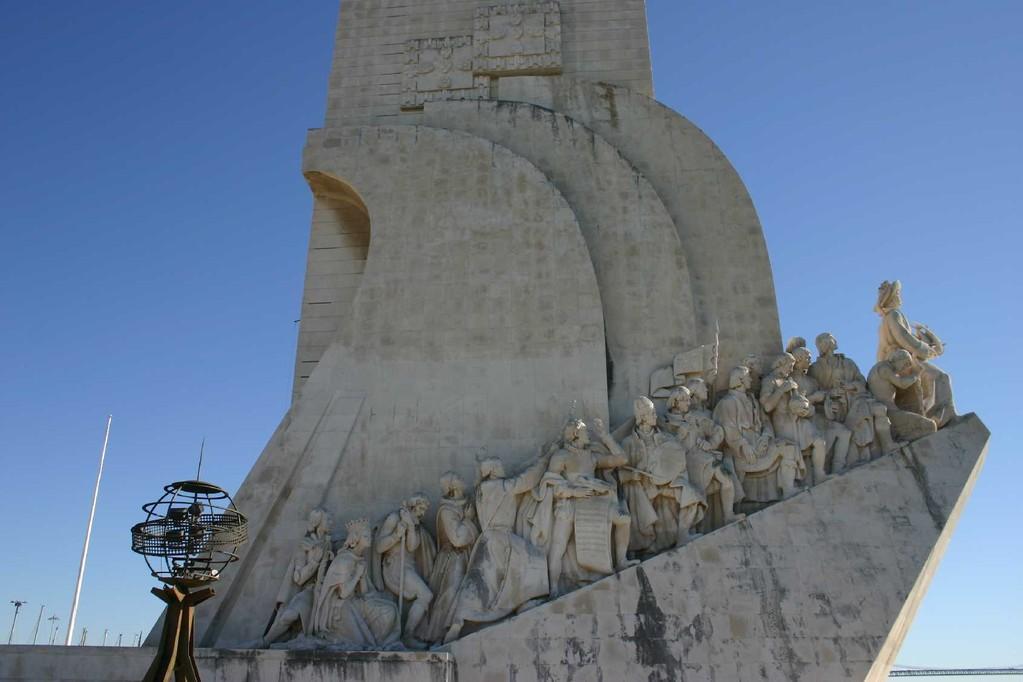 0128_31 Okt 07_Lissabon_Belem_Padrao dos Descobrimentos