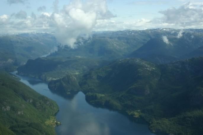 Bild 3002 - Norwegen, Bergen, Rundflug Wasserflugzeug
