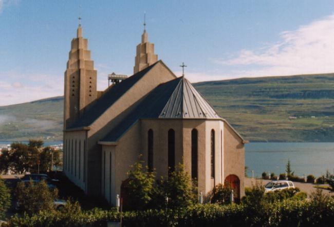 Akureyrarkirkja, Akureyri / Island