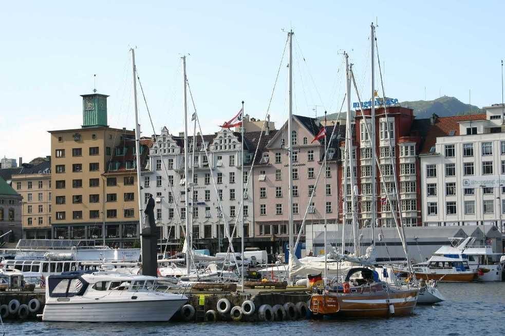 Bild 2902 - Norwegen, Bergen, Hafen