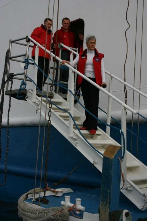 Bild 0983 - Spitzbergen, Magdalenenbucht, MS Delphin-Crew