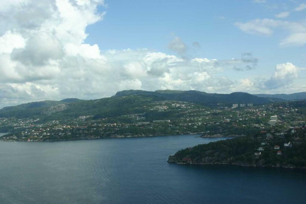 Bild 2987 - Norwegen, Bergen, Rundflug Wasserflugzeug