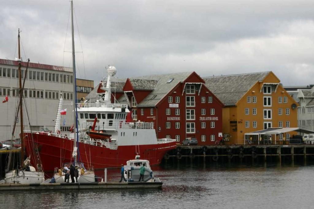 Bild 2381 - Norwegen, Tromsö, Hafen