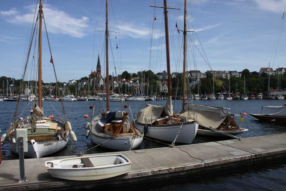 0013_30 Juli 2011_Flensburg_Historischer Hafen_Kirche St. Jürgen