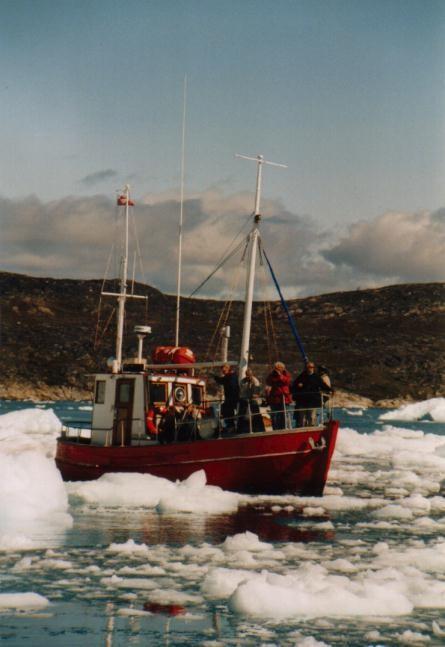 unterwegs im Ilulissat-Eisfjord / Grönland