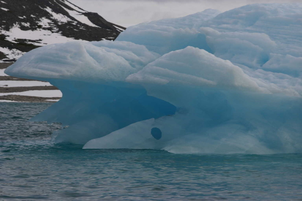Bild 1017 - Spitzbergen, Magdalenenbucht, Zodiacfahrt