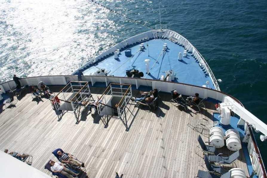Bild 0339 -  MS Delphin auf See