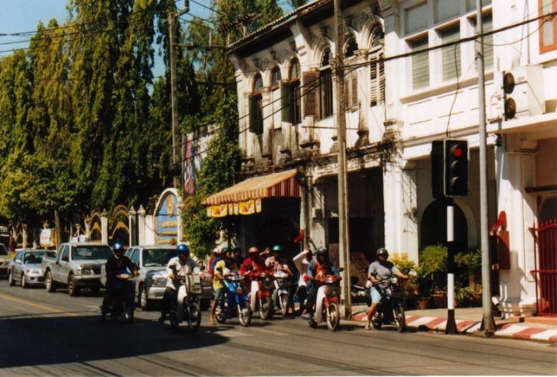 Mopeds in Phuket Town