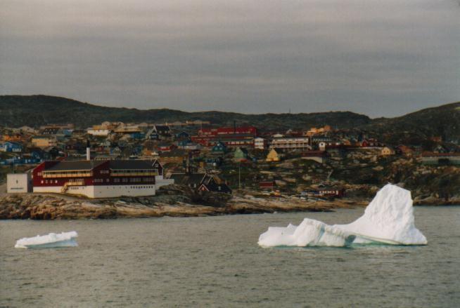Eisberg vor Ilulissat / Grönland