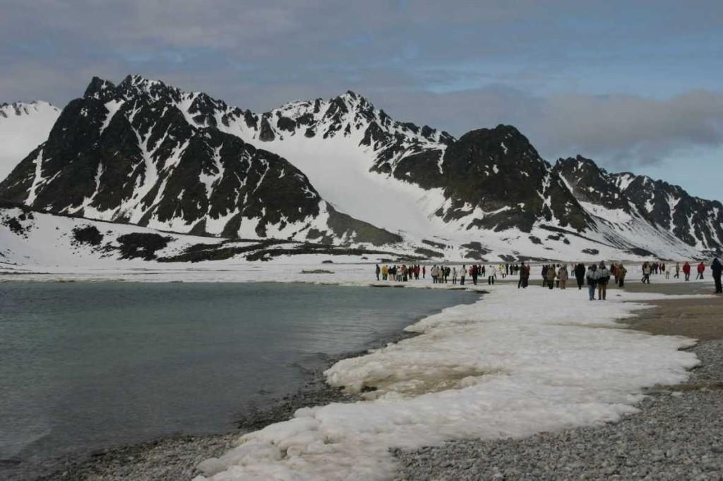 Bild 1106 - Spitzbergen, Magdalenenbucht