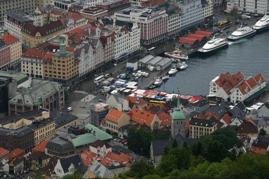 Bild 3125 - Norwegen, Bergen, auf dem Fløyen