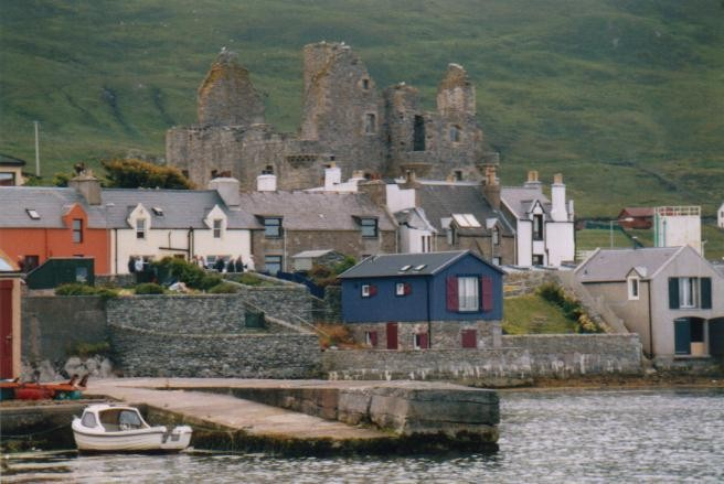 Scalloway Castle, Mainland / Shetland Inseln (UK)