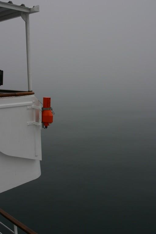Bild 0861 - MS Delphin auf See, Nebel