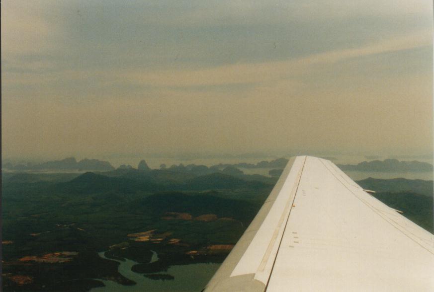 Luftaufnahme Andaman See