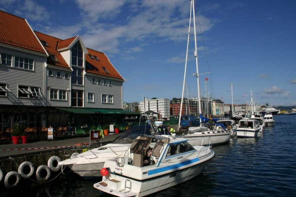 Bild 2917 - Norwegen, Bergen, Hafen