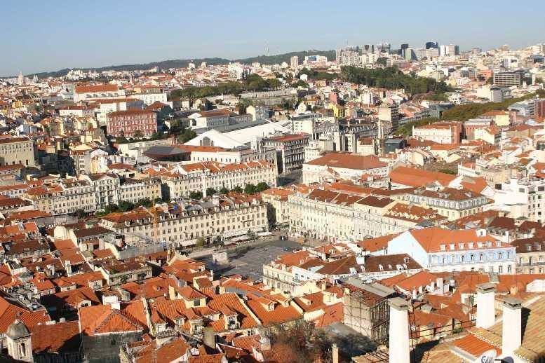 0444_01 Nov 07_Lissabon_Castelo de Sao Jorge_Praca Pedro IV