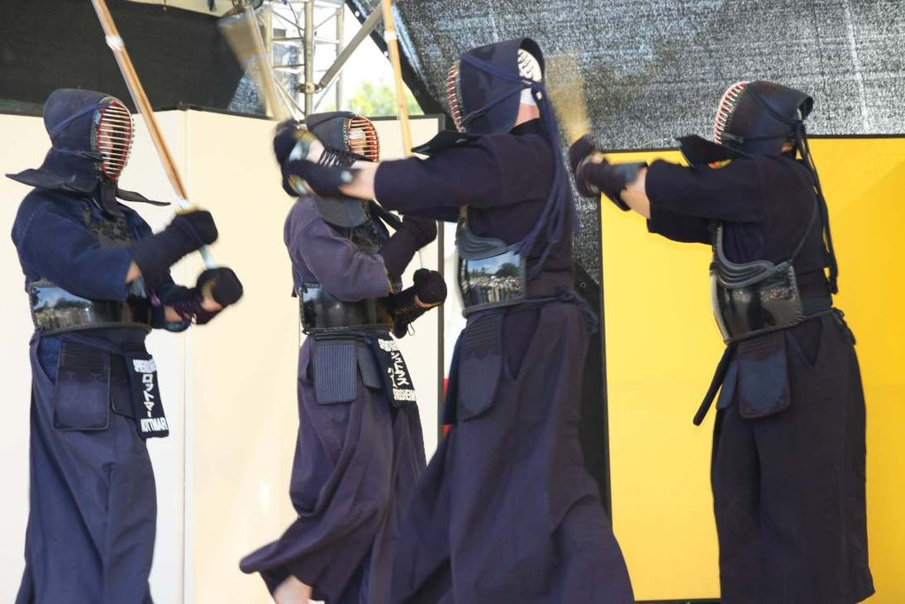 195_0433_16 Sept 2011_Gartenfest_Japan_KENDO_Weg des Schwertes