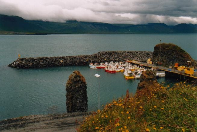 Hafen in Arnarstapi / Island