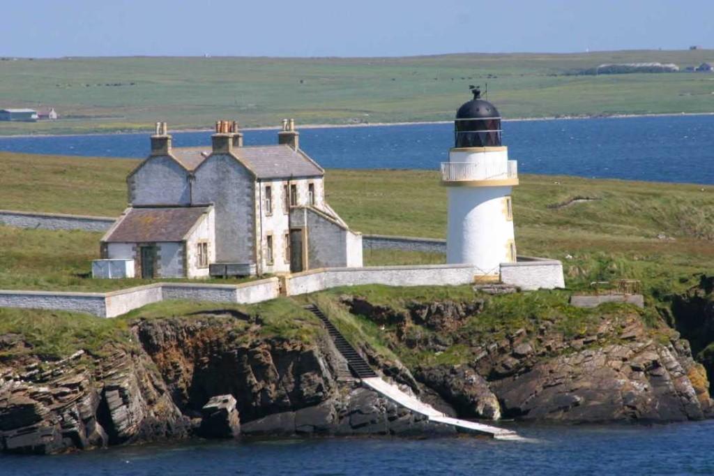 Bild 0317 - Orkney Inseln, Leuchtturm