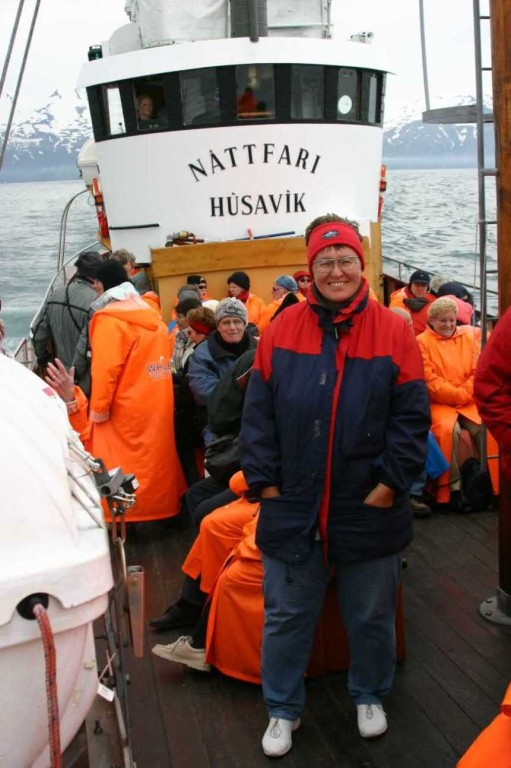 Bild 0755 - Island / Husavik, auf dem Whale Watching Boot