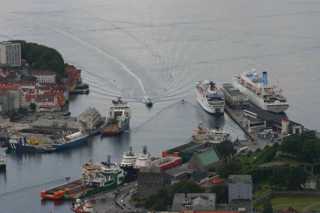 Bild 3160 - Norwegen, Bergen, auf dem Fløyen