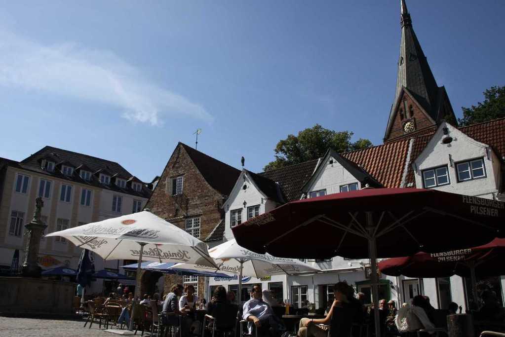 0261a_30 Juli 2011_Flensburg_Nordermarkt_Kirche St. Marien