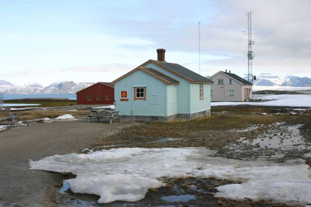 Bild 1545 - Spitzbergen, Ny Alesund, nördl. Postamt der Welt