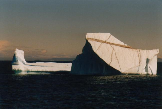 Blauer Eisberg (Rückansicht)