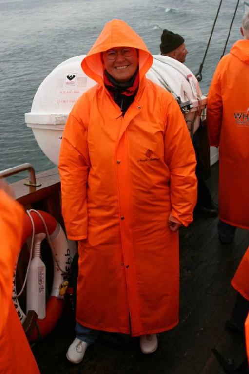 Bild 0763 - Island / Husavik, auf dem Whale Watching Boot