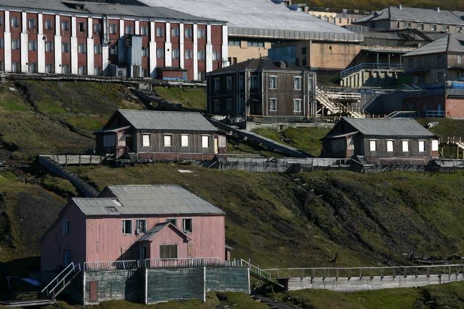 Bild 1985 - Spitzbergen, Barentsburg
