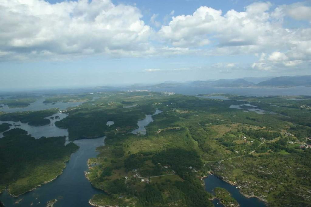 Bild 3025 - Norwegen, Bergen, Rundflug Wasserflugzeug