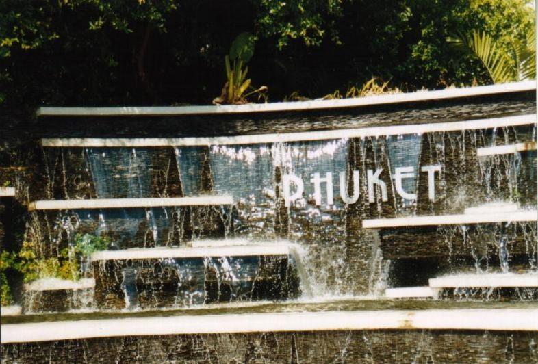 Fontäne, Phuket Town