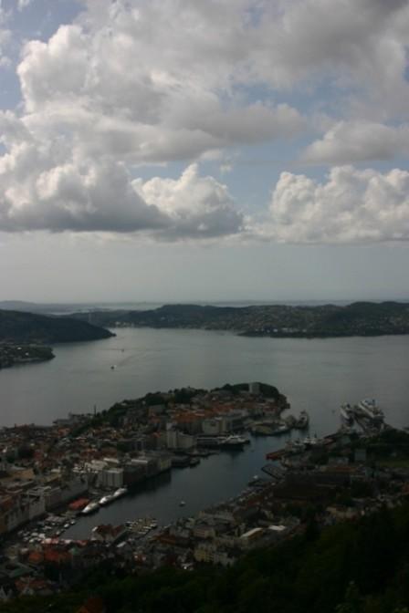 Bild 3150 - Norwegen, Bergen, auf dem Fløyen