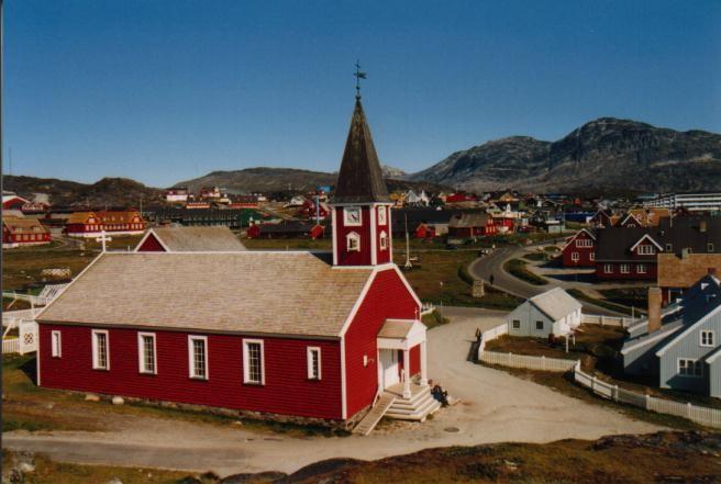 Kirche in Nuuk / Grönland