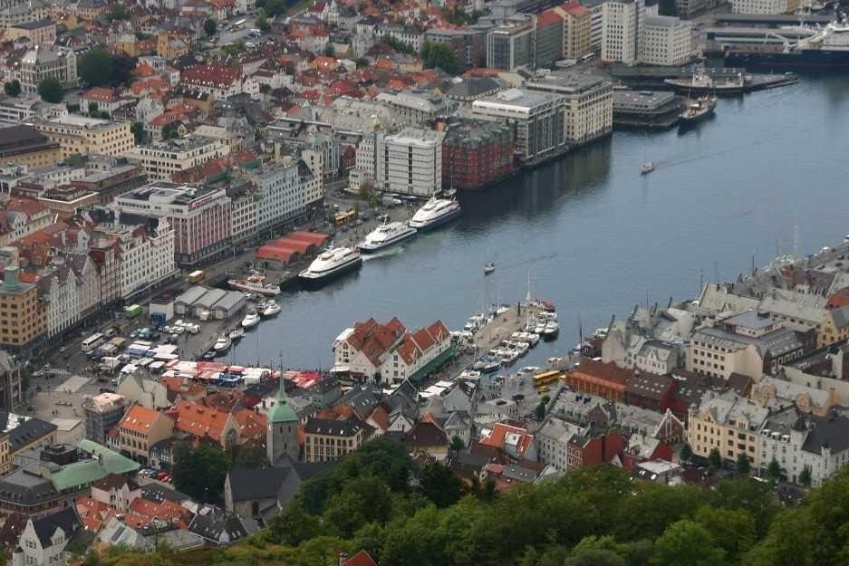Bild 3161 - Norwegen, Bergen, auf dem Fløyen
